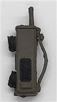 "WWII US: SCR-536 Hand-Held Radio ""Walkie Talkie"" - 1:18 Scale Modular MTF Accessory for 3-3/4"" Action Figures"