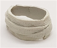 "Head Bandage Wrap - 1:18 Scale Modular MTF Accessory for 3-3/4"" Action Figures"
