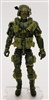 "DELUXE MTF Male Trooper Olive Green Camo ""Ambush-Ops"" Version - 1:18 Scale Marauder Task Force Action Figure"
