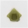 "Headgear: Helmet Plug OLIVE GREEN Version - 1:18 Scale Modular MTF Accessory for 3-3/4"" Action Figures"