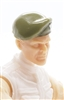 "Headgear: Beret OLIVE GREEN BERET Version - 1:18 Scale Modular MTF Accessory for 3-3/4"" Action Figures"