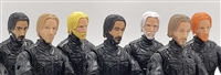 "DELUXE 7 (SEVEN) THEODORE ""THEO"" HEAD SET - 1:18 Scale Marauder Task Force Accessories"