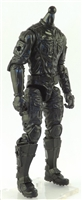 "MTF Male Trooper Body WITHOUT Head BLACK ""Night-Ops"" Leg Armor Version BASIC - 1:18 Scale Marauder Task Force Action Figure"