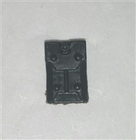 "Armor Panel: Large Size BLACK Version - 1:18 Scale Modular MTF Accessory for 3-3/4"" Action Figures"