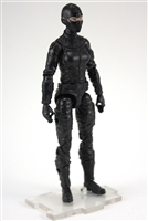 "MTF Female Valkyries with Balaclava Head BLACK ""Night-Ops"" Version BASIC - 1:18 Scale Marauder Task Force Action Figure"