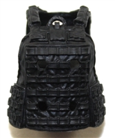 "Female Vest: Utility Type Black Version - 1:18 Scale Modular MTF Valkyries Accessory for 3-3/4"" Action Figures"