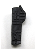 "Rifle Sheath Backpack: BLACK Version - 1:18 Scale Modular MTF Accessory for 3-3/4"" Action Figures"