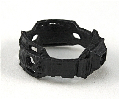 "Steady Cam Gun: Steady Cam Support Belt BLACK Version - 1:18 Scale Modular MTF Accessory for 3-3/4"" Action Figures"