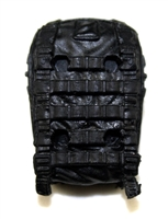 "Backpack: Modular Backpack BLACK Version - 1:18 Scale Modular MTF Accessory for 3-3/4"" Action Figures"