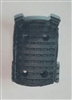 "Male Vest: Plate Carrier Type BLACK Version - 1:18 Scale Modular MTF Accessory for 3-3/4"" Action Figures"