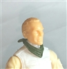 "Headgear: Standard Neck Scarf GREEN Version - 1:18 Scale Modular MTF Accessory for 3-3/4"" Action Figures"