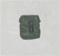 "Pocket: Small Size GREEN & Black Version - 1:18 Scale Modular MTF Accessory for 3-3/4"" Action Figures"