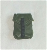 "Pocket: Large Size GREEN & Black Version - 1:18 Scale Modular MTF Accessory for 3-3/4"" Action Figures"