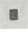 "Armor Panel: Small Size GREEN Version - 1:18 Scale Modular MTF Accessory for 3-3/4"" Action Figures"
