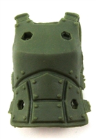 "Female Vest: Armor Type Green Version - 1:18 Scale Modular MTF Valkyries Accessory for 3-3/4"" Action Figures"