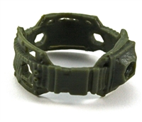 "Steady Cam Gun: Steady Cam Support Belt GREEN Version - 1:18 Scale Modular MTF Accessory for 3-3/4"" Action Figures"