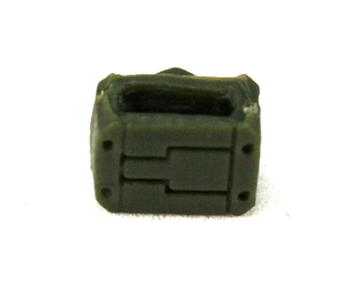 "MOUNT for Ammo Belt: GREEN Version - 1:18 Scale Modular MTF Accessory for 3-3/4"" Action Figures"