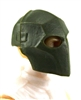 "Armor Mask: GREEN Version - 1:18 Scale Modular MTF Accessory for 3-3/4"" Action Figures"