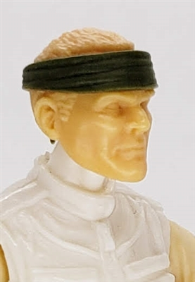 "Headgear: Headband GREEN Version - 1:18 Scale Modular MTF Accessory for 3-3/4"" Action Figures"