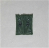 "Ammo Pouch: Double Magazine DARK GREEN Version - 1:18 Scale Modular MTF Accessory for 3-3/4"" Action Figures"