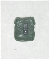"Pocket: Small Size DARK GREEN Version - 1:18 Scale Modular MTF Accessory for 3-3/4"" Action Figures"