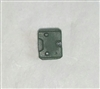 "Armor Panel: Small Size DARK GREEN Version - 1:18 Scale Modular MTF Accessory for 3-3/4"" Action Figures"