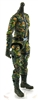 "MTF Female Valkyries Body WITHOUT Head DARK GREEN CAMO ""Spec-Ops"" Version BASIC - 1:18 Scale Marauder Task Force Action Figure"