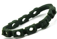 "Bandolier: DARK GREEN Version - 1:18 Scale Modular MTF Accessory for 3-3/4"" Action Figures"