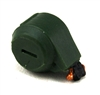 Steady-Cam Gun: Ammo Drum DARK GREEN Version - 1:18 Scale Weapon Accessory for 3 3/4 Inch Action Figures