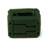 "MOUNT for Ammo Belt: DARK GREEN Version - 1:18 Scale Modular MTF Accessory for 3-3/4"" Action Figures"