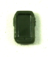 Smartphone / Mobile Phone: DARK GREEN Version - 1:18 Scale MTF Accessory for 3 3/4 Inch Action Figures