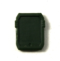 Smartpad / Computer Tablet: DARK GREEN Version - 1:18 Scale MTF Accessory for 3 3/4 Inch Action Figures