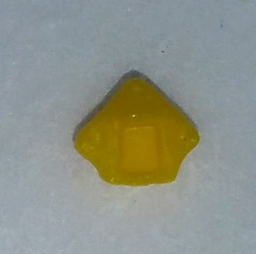 "Headgear: Helmet Plug YELLOW Version - 1:18 Scale Modular MTF Accessory for 3-3/4"" Action Figures"