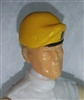 "Headgear: Beret YELLOW Version - 1:18 Scale Modular MTF Accessory for 3-3/4"" Action Figures"