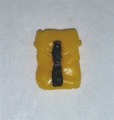 "Pocket: Large Size YELLOW Version - 1:18 Scale Modular MTF Accessory for 3-3/4"" Action Figures"
