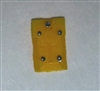 "Armor Panel: Large Size YELLOW Version - 1:18 Scale Modular MTF Accessory for 3-3/4"" Action Figures"