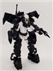 MTF Exo-Suit - BLACK Version DELUXE - 1:18 Scale Marauder Task Force Accessory
