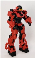 MTF Exo-Suit - RED Version BASIC - 1:18 Scale Marauder Task Force Accessory