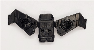MTF Exo-Suit: JETPACK with Wings - BLACK Version - 1:18 Scale Marauder Task Force Accessory