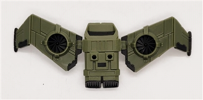 MTF Exo-Suit: JETPACK with Wings - GREEN Version - 1:18 Scale Marauder Task Force Accessory