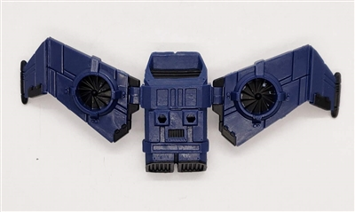 MTF Exo-Suit: JETPACK with Wings - BLUE Version - 1:18 Scale Marauder Task Force Accessory