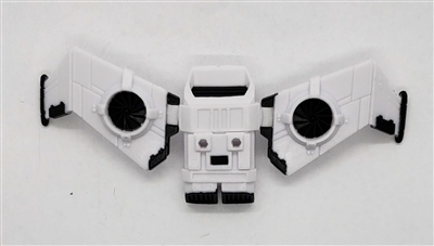 MTF Exo-Suit: JETPACK with Wings - WHITE Version - 1:18 Scale Marauder Task Force Accessory