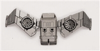 MTF Exo-Suit: JETPACK with Wings - GUN-METAL Version - 1:18 Scale Marauder Task Force Accessory