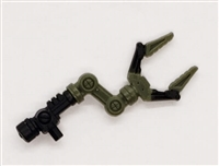 MTF Exo-Suit: CLAW ARM - GREEN Version - 1:18 Scale Marauder Task Force Accessory
