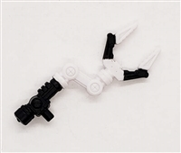 MTF Exo-Suit: CLAW ARM - WHITE Version - 1:18 Scale Marauder Task Force Accessory