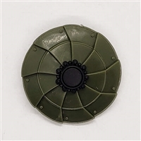 MTF Exo-Suit: COMBAT SHIELD - GREEN Version - 1:18 Scale Marauder Task Force Accessory