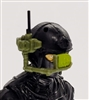 MTF Exo-Suit: HUD Targeting Site - GREEN Version - 1:18 Scale Marauder Task Force Accessory