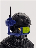 MTF Exo-Suit: HUD Targeting Site - BLUE Version - 1:18 Scale Marauder Task Force Accessory