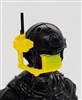 MTF Exo-Suit: HUD Targeting Site -YELLOW Version - 1:18 Scale Marauder Task Force Accessory