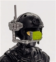 MTF Exo-Suit: HUD Targeting Site - GUN-METAL Version - 1:18 Scale Marauder Task Force Accessory
